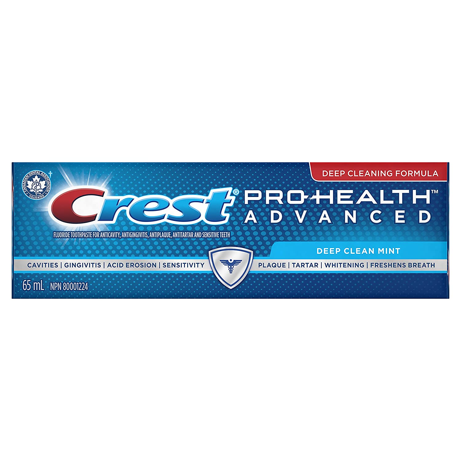 Crest Pro-Health Advanced Deep Clean Mint Toothpaste - 90 ml Procter and Gamble