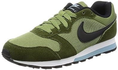 Nike Men s 749794 Low-Top Sneakers, Multicolour (Legion Green   Black   Palm 1b11126561c3