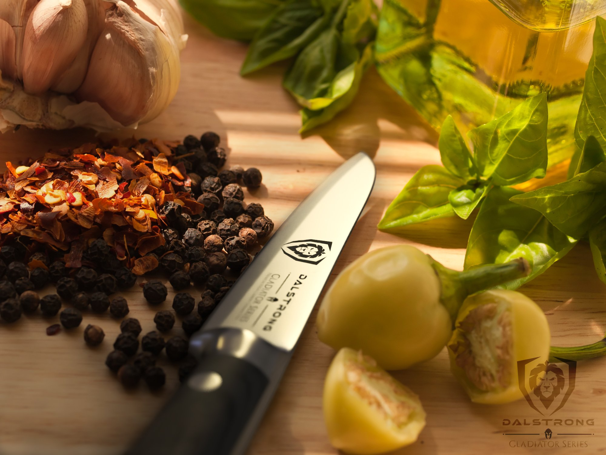 DALSTRONG Paring Knife - Gladiator Series Paring Knife - German HC Steel - 3.75'' by Dalstrong (Image #3)