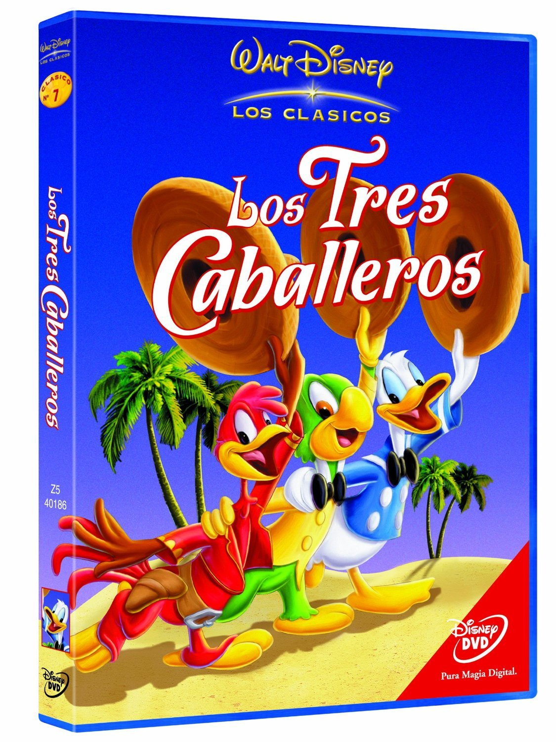 Amazon.com: Los Tres Caballeros (Import Movie) (European Format - Zone 2) (2003) Norman Ferguson: Movies & TV