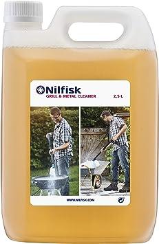 Nilfisk 125300393 Detergente para Parrillas y Metales, Limpiador Universal para hidrolimpiadoras, 0 V, Blanco: Amazon.es: Bricolaje y herramientas
