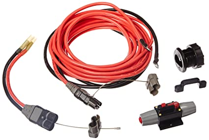 amazon com trac outdoor t10135 trailer winch vehicle wiring kit rh amazon com wiring trailer winch to truck trailer winch install