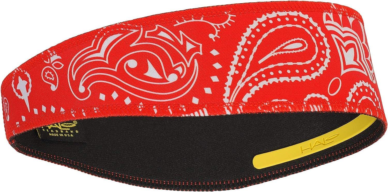 Halo Headband II Headband Sweatband Pullover, Paisley Red