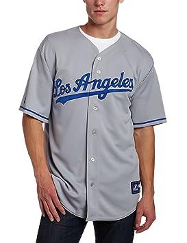 Majestic Los Angeles Dodgers Replica MLB Jersey Away (XXL)  Amazon ... 7d56ebc58f0