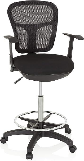 de hjh tabouret de haut OFFICE chaise 760008 travail y76bfg