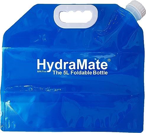 pour Hydramate pliable 5 L De Stockage D/'eau Bouteille Pack de 2 léger Bpa Gratuit