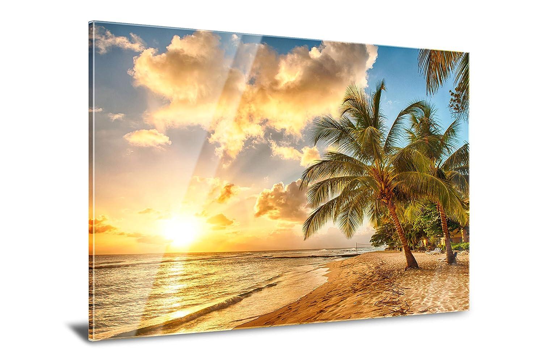 PMP 4life. XXL Poster für Ihr Zuhause, Wanddeko für das Wohnzimmer Schlafzimmer Küche usw. (Acrylglas | 120 cm x 85 cm, Barbados)