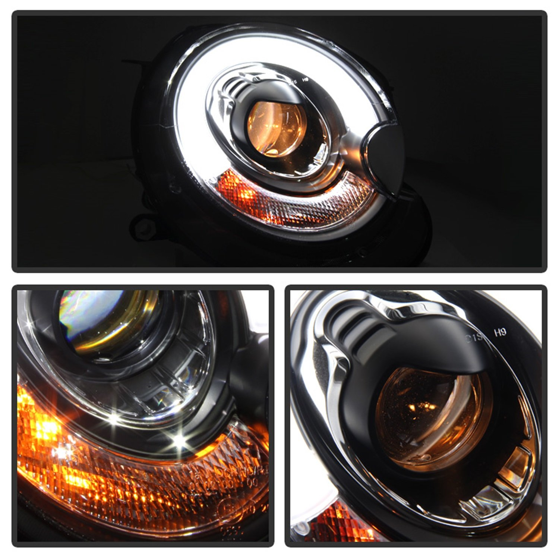 Spyder Auto Gmc Sierra 1500 2500 3500 Denali 01 Yukon Wiring Diagram Headlights Xl Black Projector Headlight Automotive