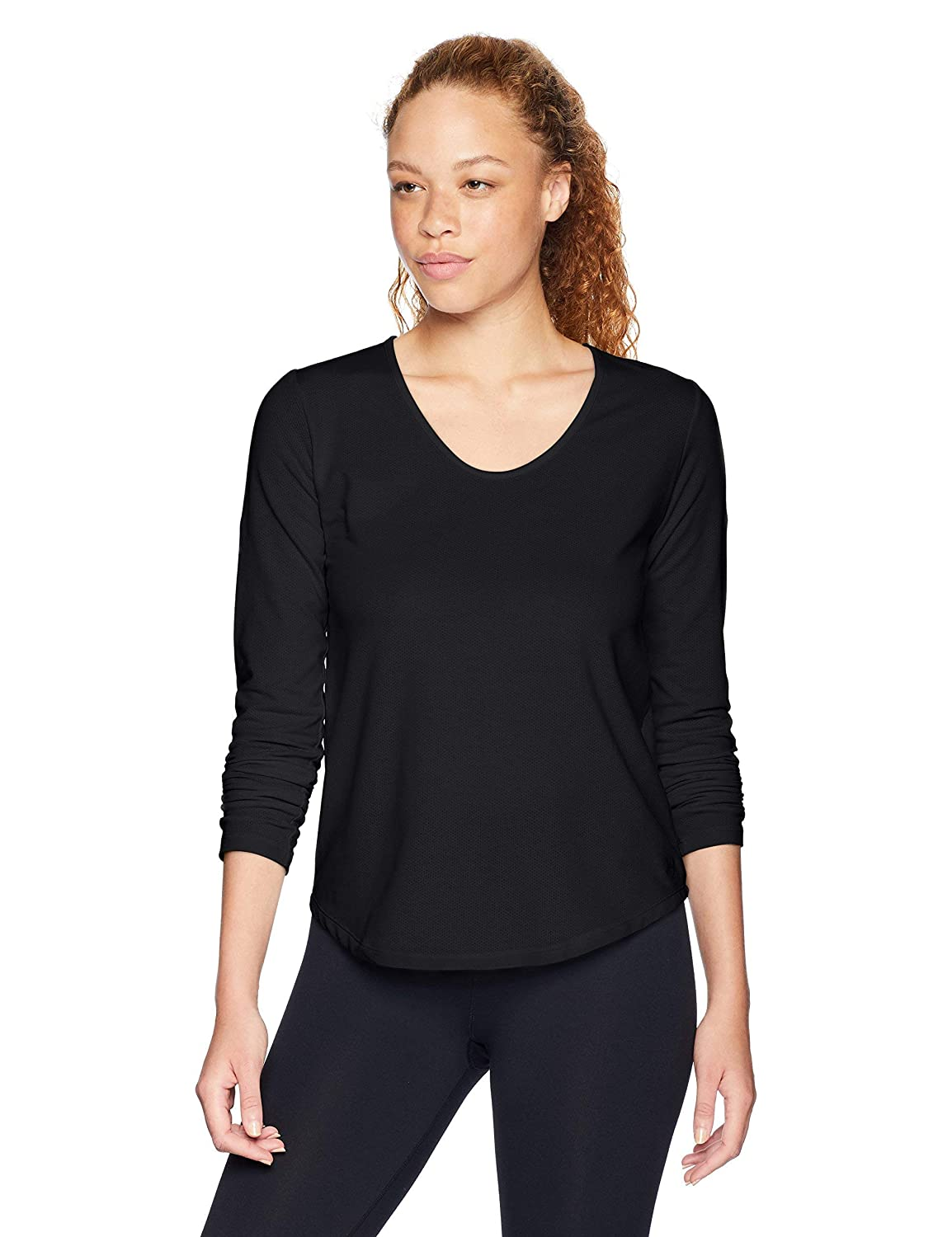 Donna Pindot Open Back Ls Top A Manica Lunga Under Armour