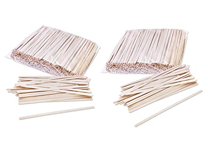 2 Pack Of 1000 Solo C 10c Birch Wood 7 Inch Coffee Stirrers Bundled By Maven Gifts