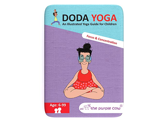 The Purple Cow Doda Yoga-Focus and Concentration Game ...