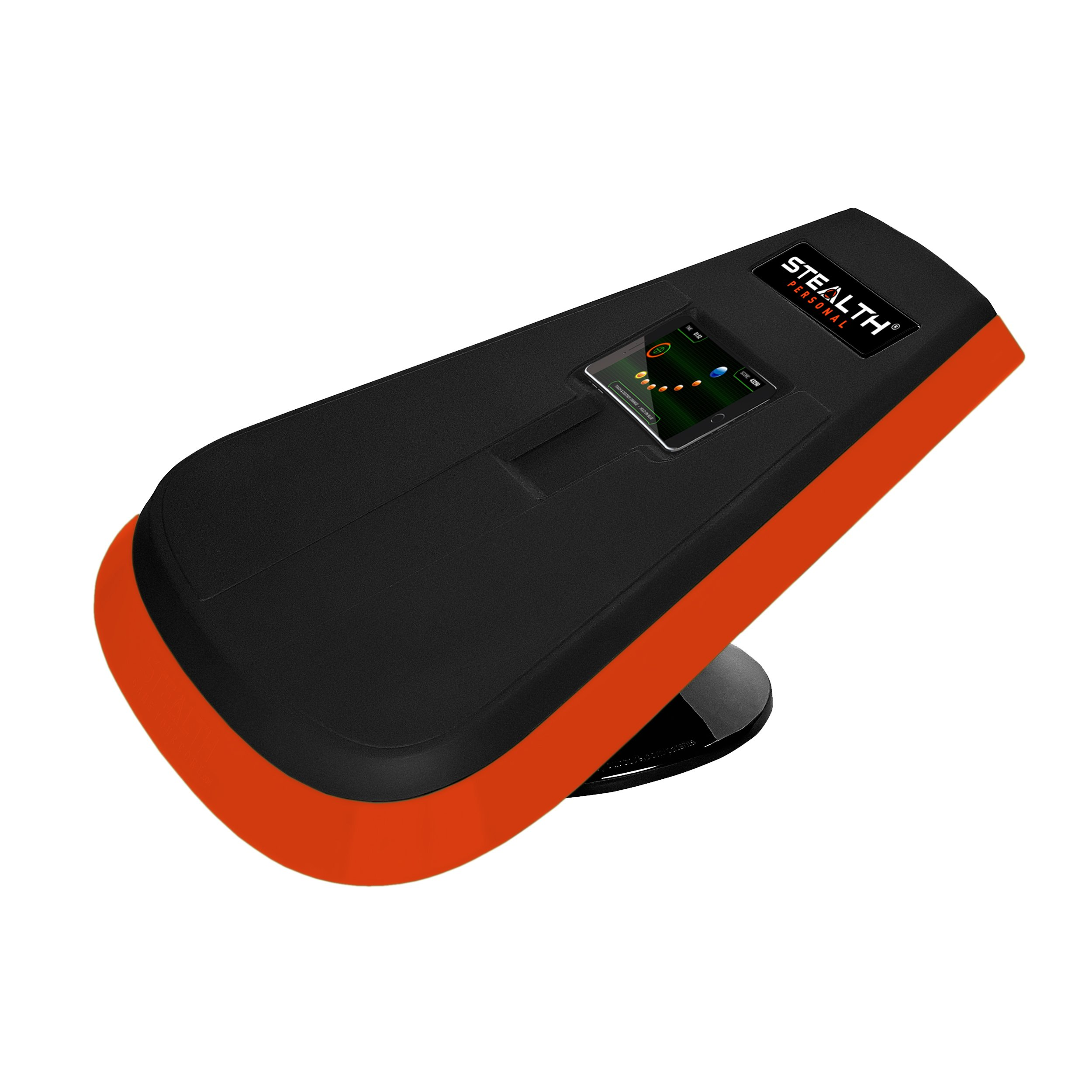 Stealth Core Trainer Personal, Dynamic Ab Plank Workout, Interactive Fitness Board Powered By GamePlay Technology For a Healthy Back and Strong Core (Orange)