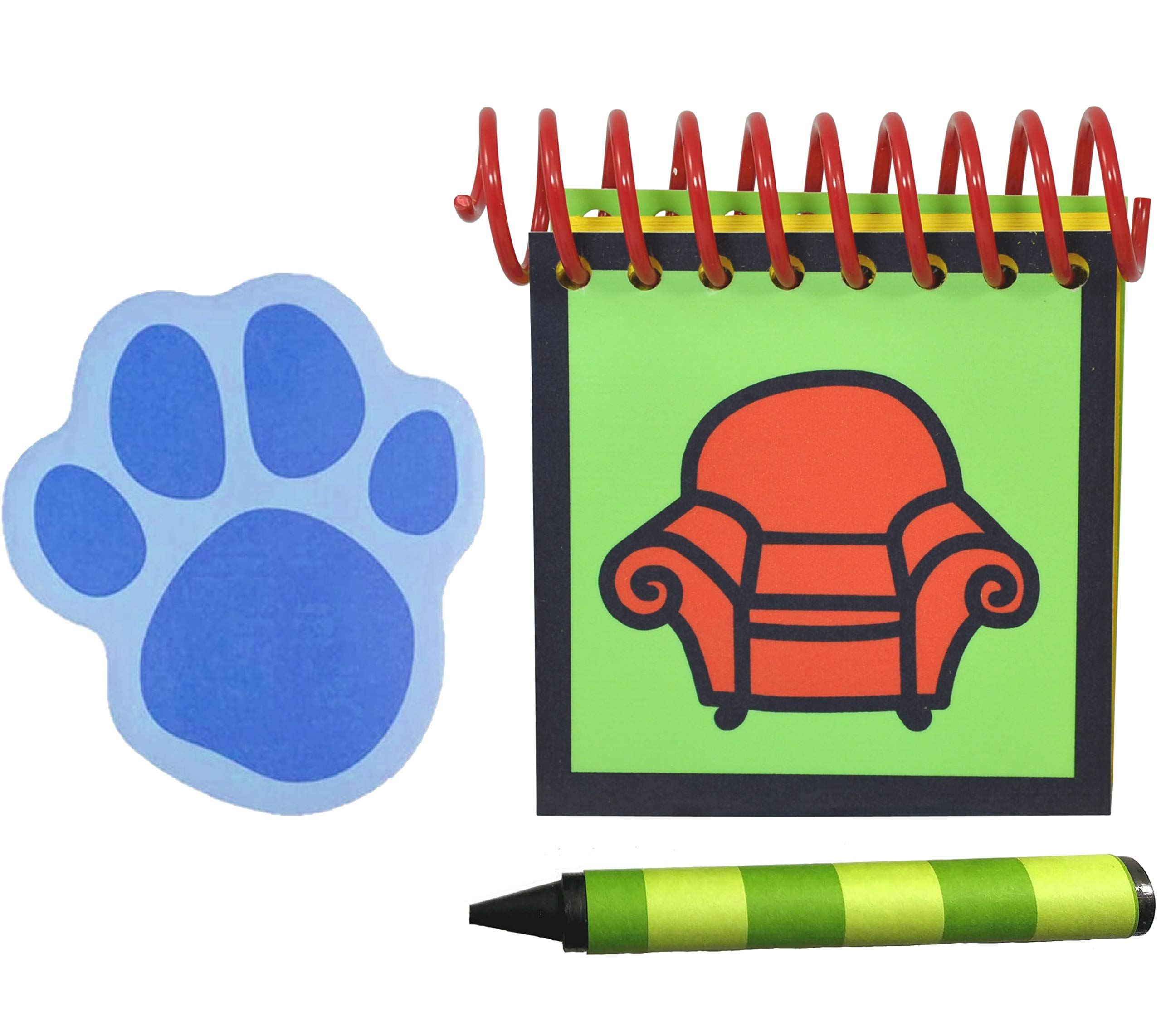 Handcrafted Handy Dandy inspired Steve Notebook and Crayons