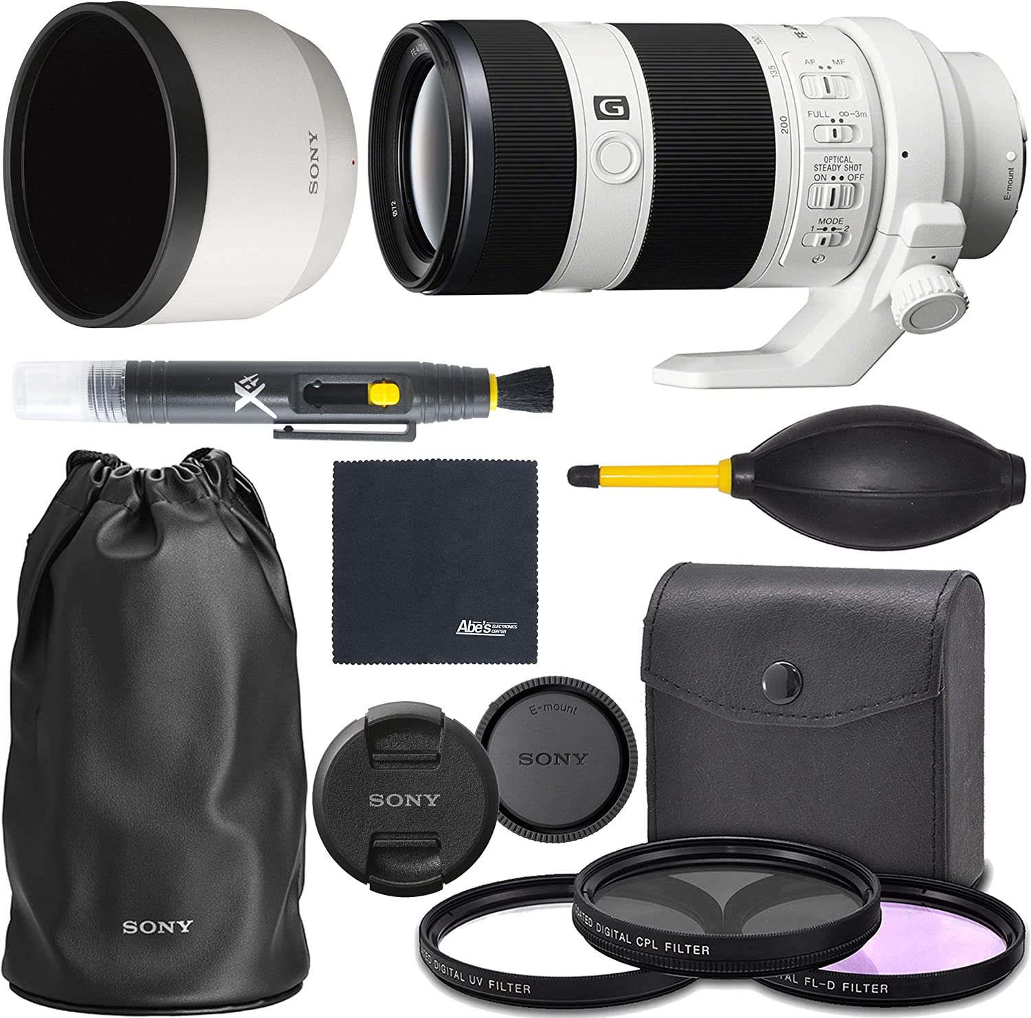Ultraviolet UV Multi-Coated HD Glass Protection Filter for Sony FE 70-200mm f//2.8 GM OSS Lens