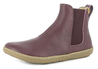 El Naturalista N5307 Coral Damen Chelsea Boots,Frauen Stiefel,Halbstiefel,Stiefelette,Bootie,Schlupfstiefel,Flach