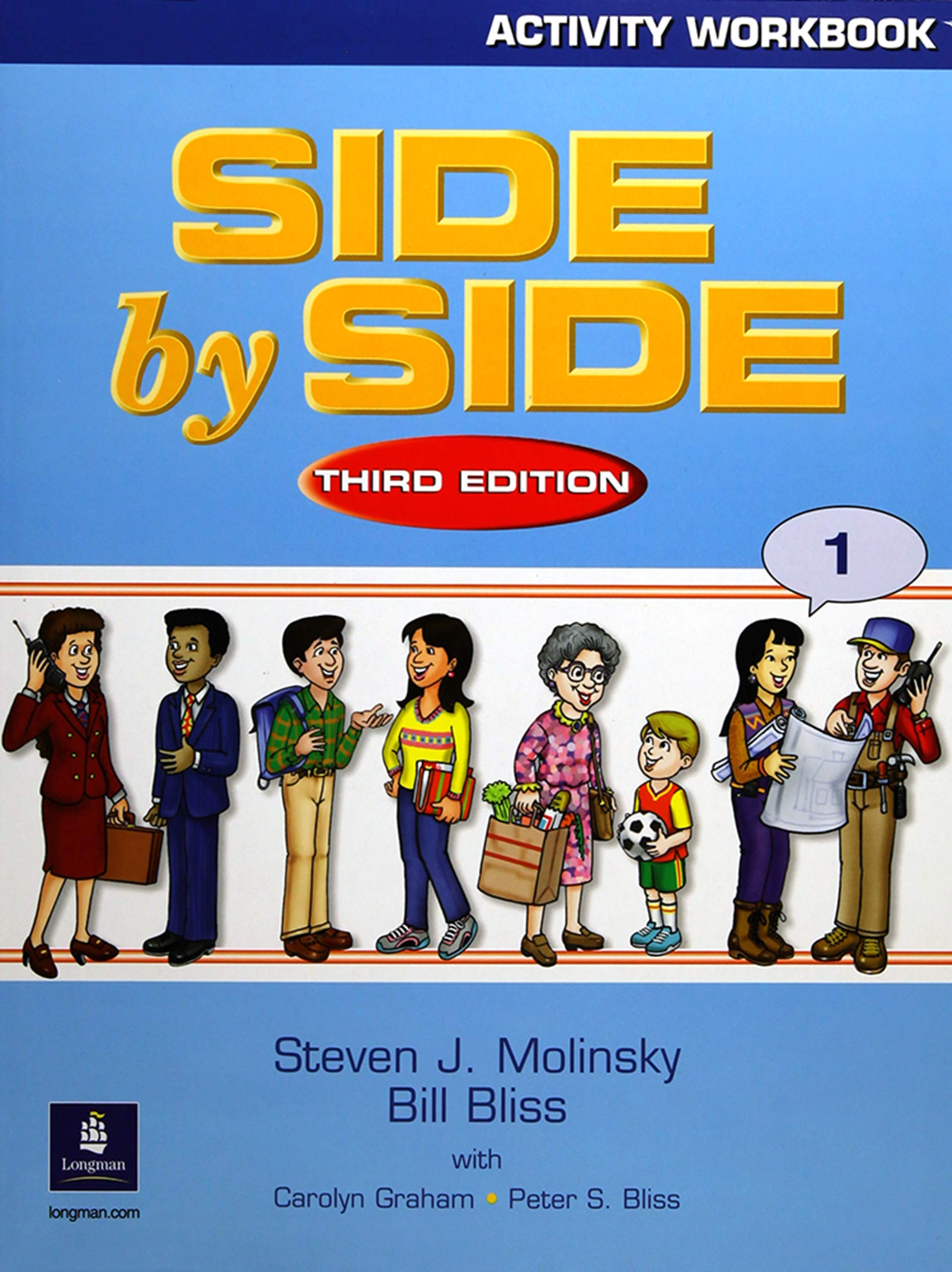 Side by Side 1 Activity Workbook 1: Steven J. Molinsky, Bill Bliss:  9780130267450: Foreign Languages: Amazon Canada