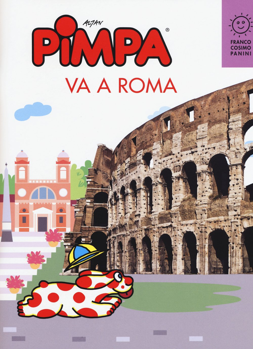 Pimpa va a Roma (Città in gioco)