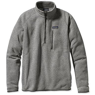 Patagonia Better Sweater Quarter-Zip for Men (Large, Pale Khaki)
