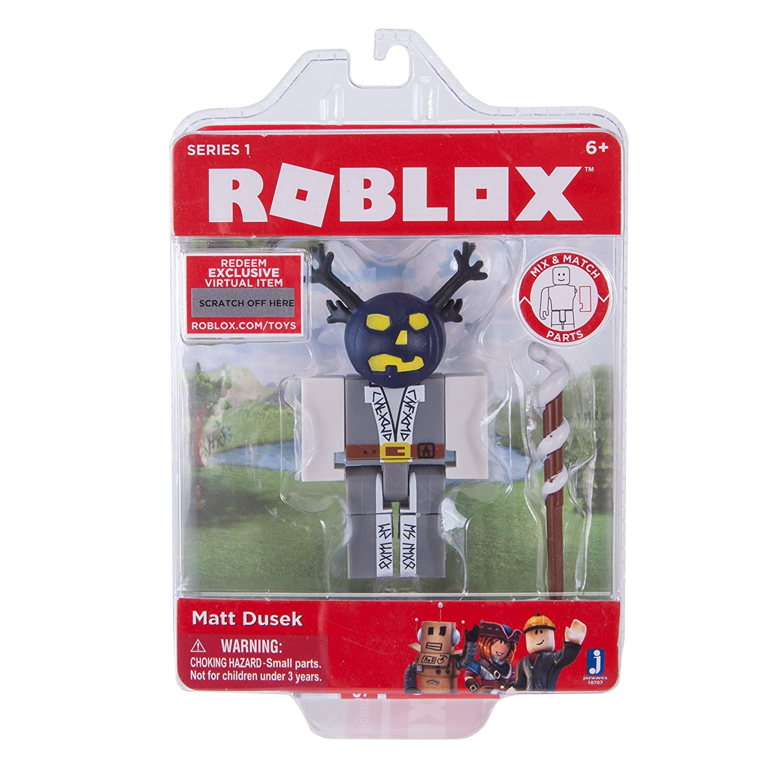Amazoncom Roblox Matt Dusek Figure Pack Toys Games