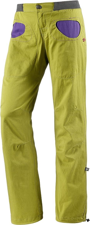 E9 Mujer Pantalón de escalada, manzana, extra-small: Amazon ...