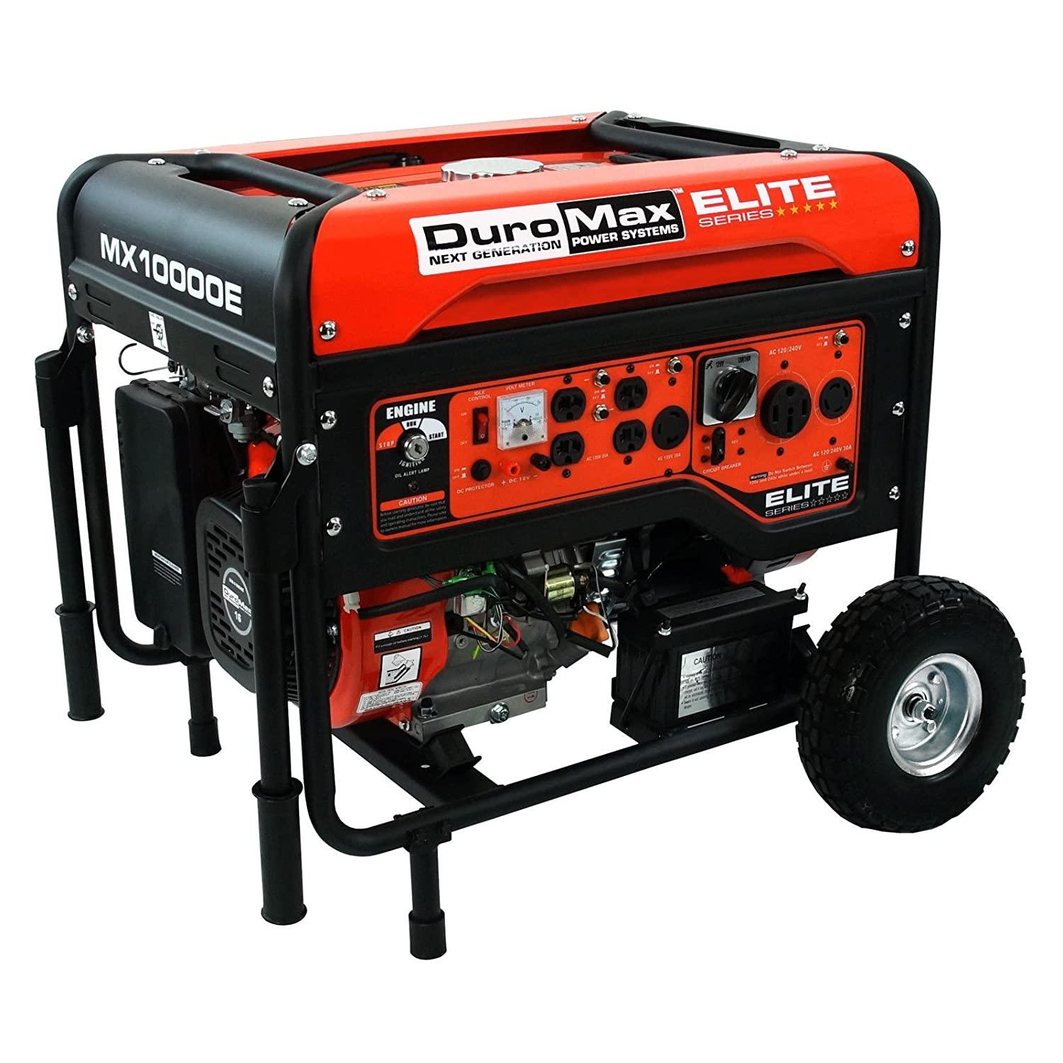 Amazon DuroMax Elite Series Watts 16 0 Hp Gas Generator