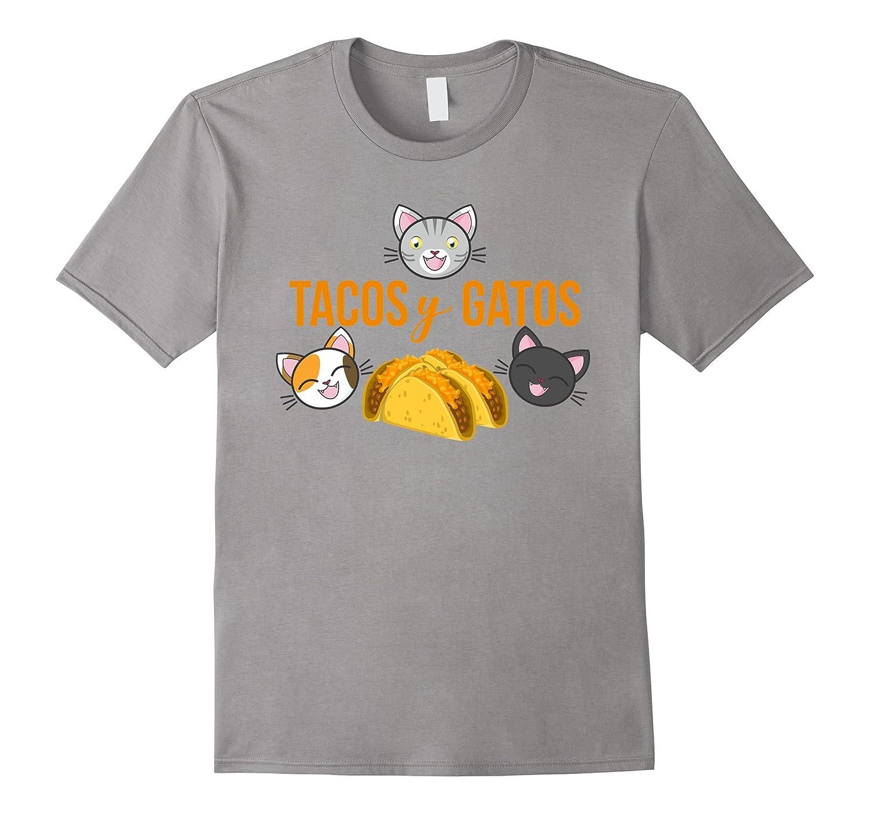 Funny Taco Cat T Shirt Cinco de Meow Gato-PL