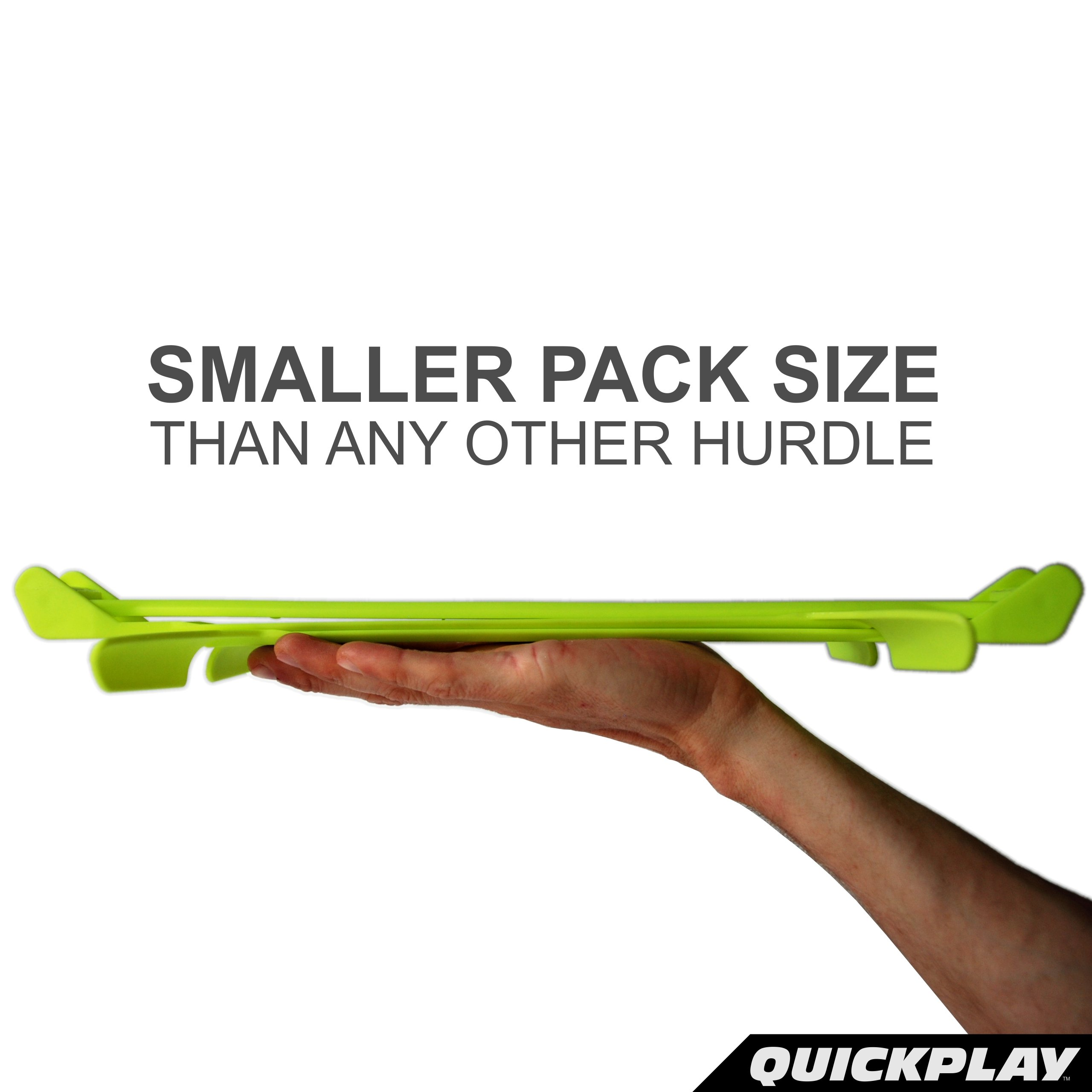 QuickPlay PRO Adjustable Height: 6'', 9'' + 12'' All-in-One Speed Hurdles (Set of 6) Speed Training Hurdles, Agility Hurdles and Plyometric Hurdles by QuickPlay (Image #4)