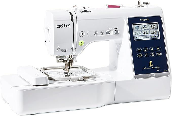 Brother Innovis M280D máquina de costura, acolchado y bordado: Amazon.es: Hogar