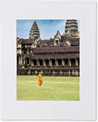 Matted photo print – Monk in Angkor Wat – Siem Reap, Cambodia – Fine Art – 16x20-11x14-8x10