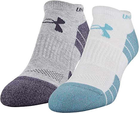 Amazon.com: Under Armour Adult Golf Elevated Performance No Show Socks,  2-pair: Clothing