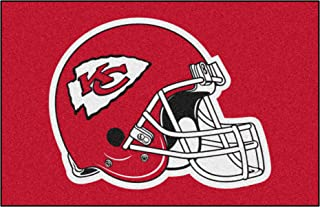 "product image for FANMATS - 5786 NFL Kansas City Chiefs Nylon Face Starter Rug 19""x30"""