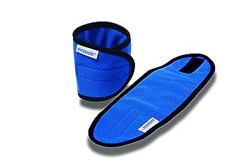 424ecb1292527 Hyperkewl Unisex s 6573 Evaporative Cooling Wrist Wraps-Blue