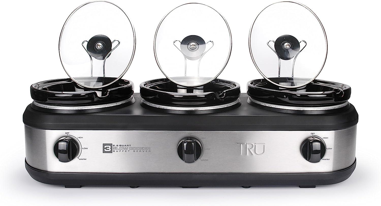 Tru BS-325LR Slow-Cookers: Crock Pot: Kitchen & Dining