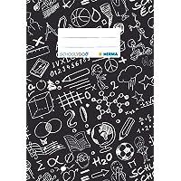 """'Herma""""schooly Ghundoo Cuaderno Plástico DIN A5, estampado, 1 pieza, color Negro"""
