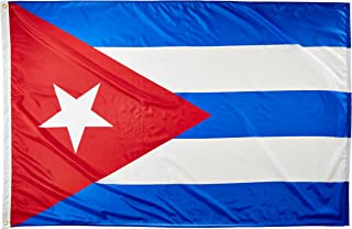 product image for Annin Flagmakers Model 191907 Cuba Flag Nylon SolarGuard NYL-Glo, 4x6 ft, 100% Made in USA to Official United Nations Design Specifications