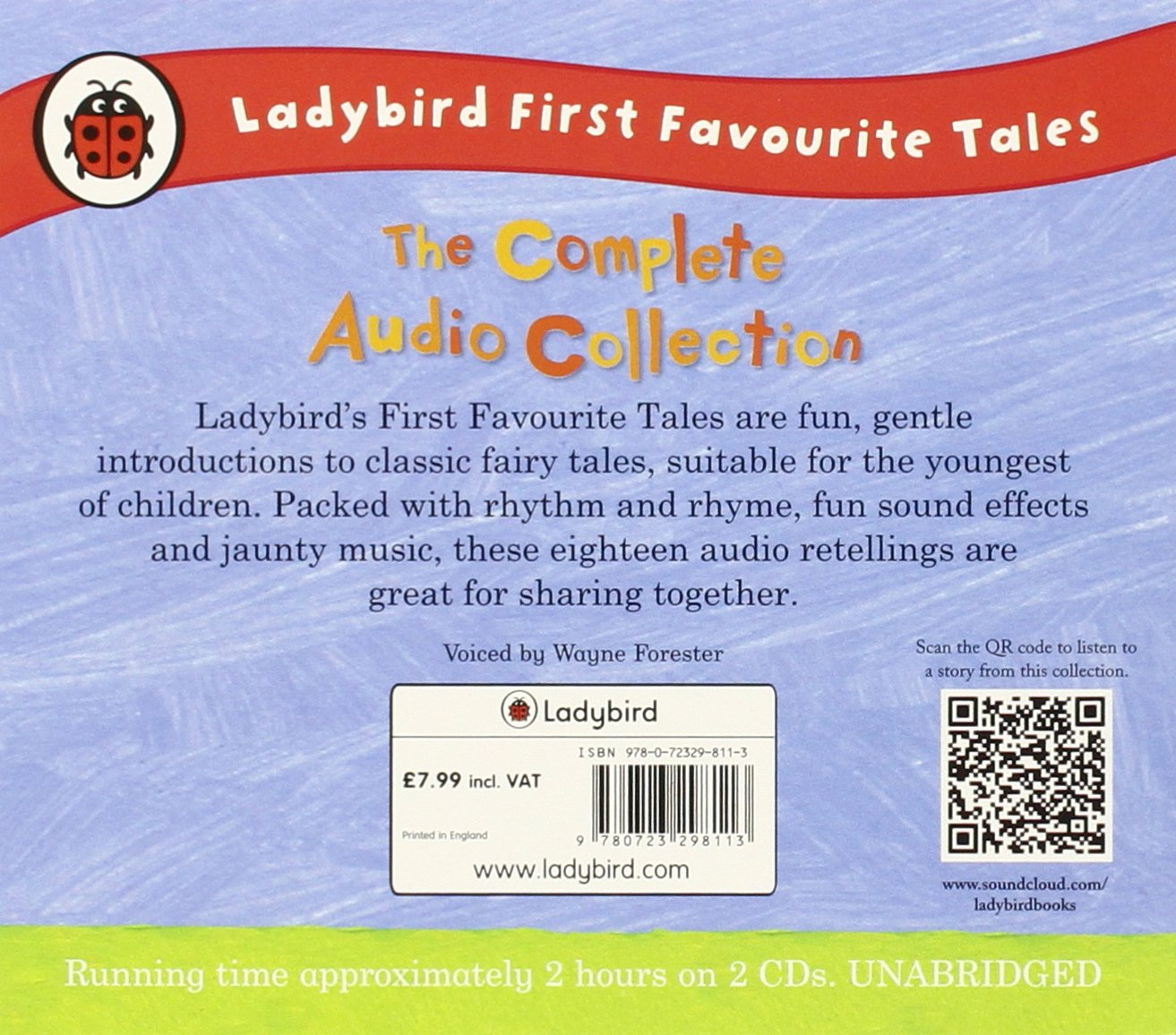 The Ladybird First Favourite Tales Complete Audio Unabridged 3 Cds