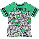 TMNT Teenage Mutant Ninja Turtles Boys Short Sleeve Tee (3T,