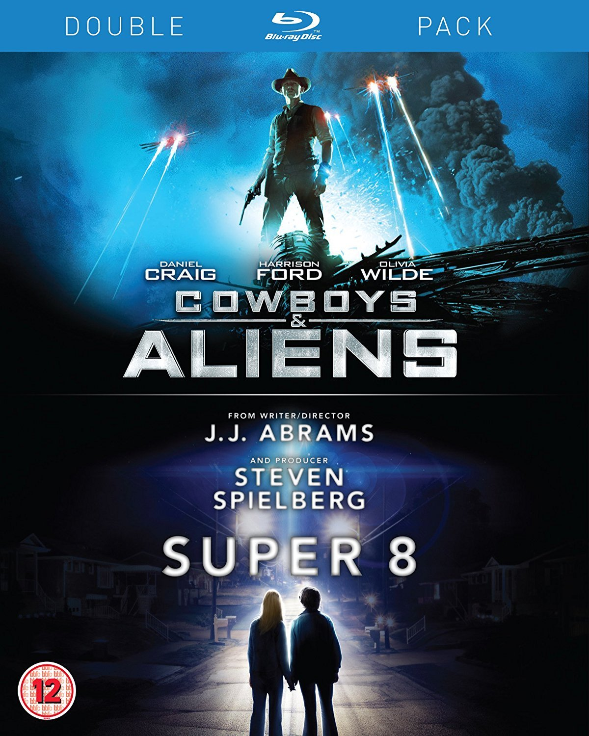 Cowboys & Aliens / Super 8 Edizione: Regno Unito Reino Unido Blu-ray: Amazon.es: Movie, Film [Blu-Ray Disc]: Cine y Series TV