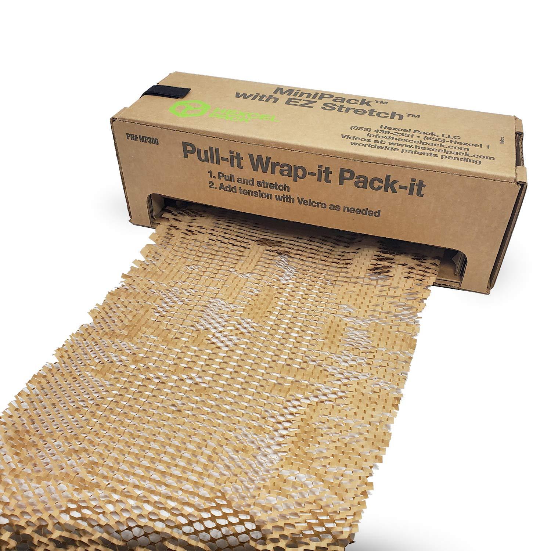 IDL Packaging HexcelWrap Cushioning Kraft Paper 15.25