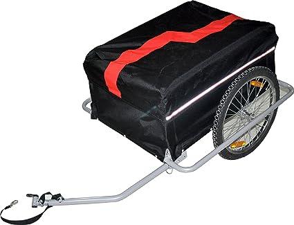 Amazon.com: Rojo para Bicicleta remolque Carrito Large ...