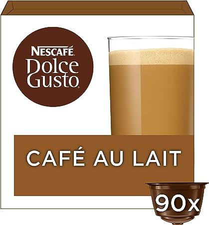 Cafe Dolce gusto CAFE CON LECHE   NESTLE Pack 3 cajas de 18 ...
