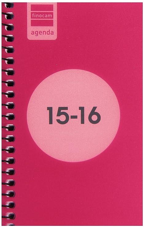 Finocam 632014516 - Agenda escolar espiral e3 semana vista ...