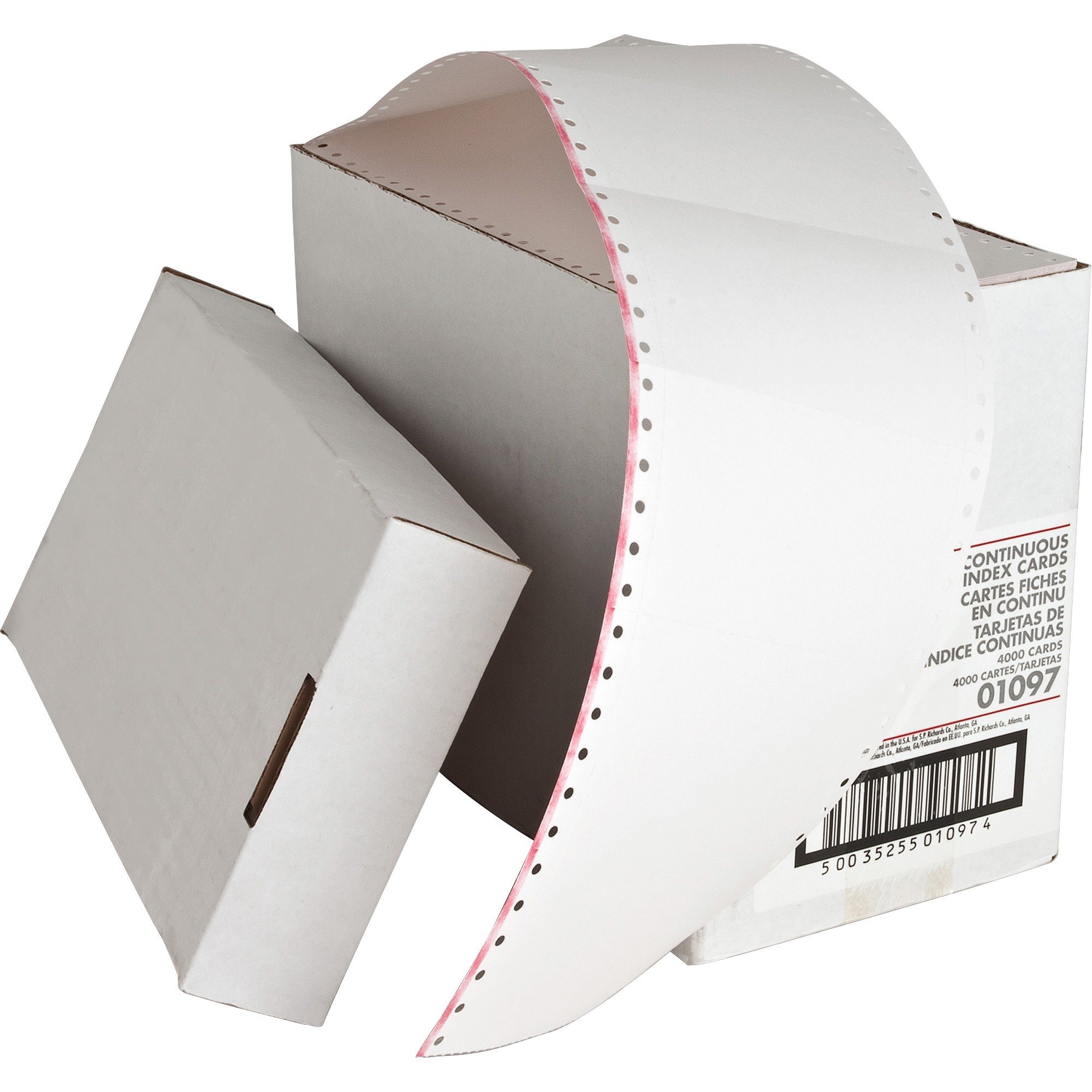 SPR01097 - Sparco Continuous Feed Index Cards