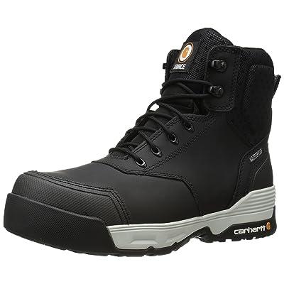 "Carhartt Men's 6"" Force Lightweight Waterproof Composite Toe Work Boot CMA6331 | Industrial & Construction Boots"