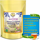 All in One Detox Tea. Appetite Control Diet Tea for Weight Loss, Detox, Cleanse, Energy.