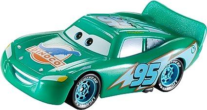 Amazon Com Disney Pixar Cars Color Changers Dinoco Lightning Mcqueen Vehicle Toys Games