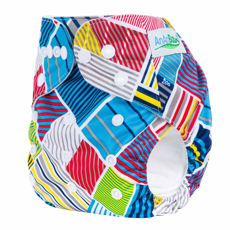 Bebé Pañales Lavables Reutilizable Pantalones de Entrenamiento Transpirable Sin Escapes Unisex Lindo talla única ?0-3 años?: Amazon.es: Bebé
