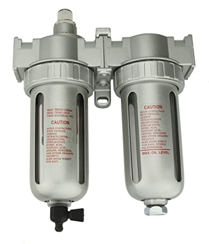 Air Compressor Filter Dryer >> 1 2 Compressed Air In Line Filter Desiccant Air Dryer Combination