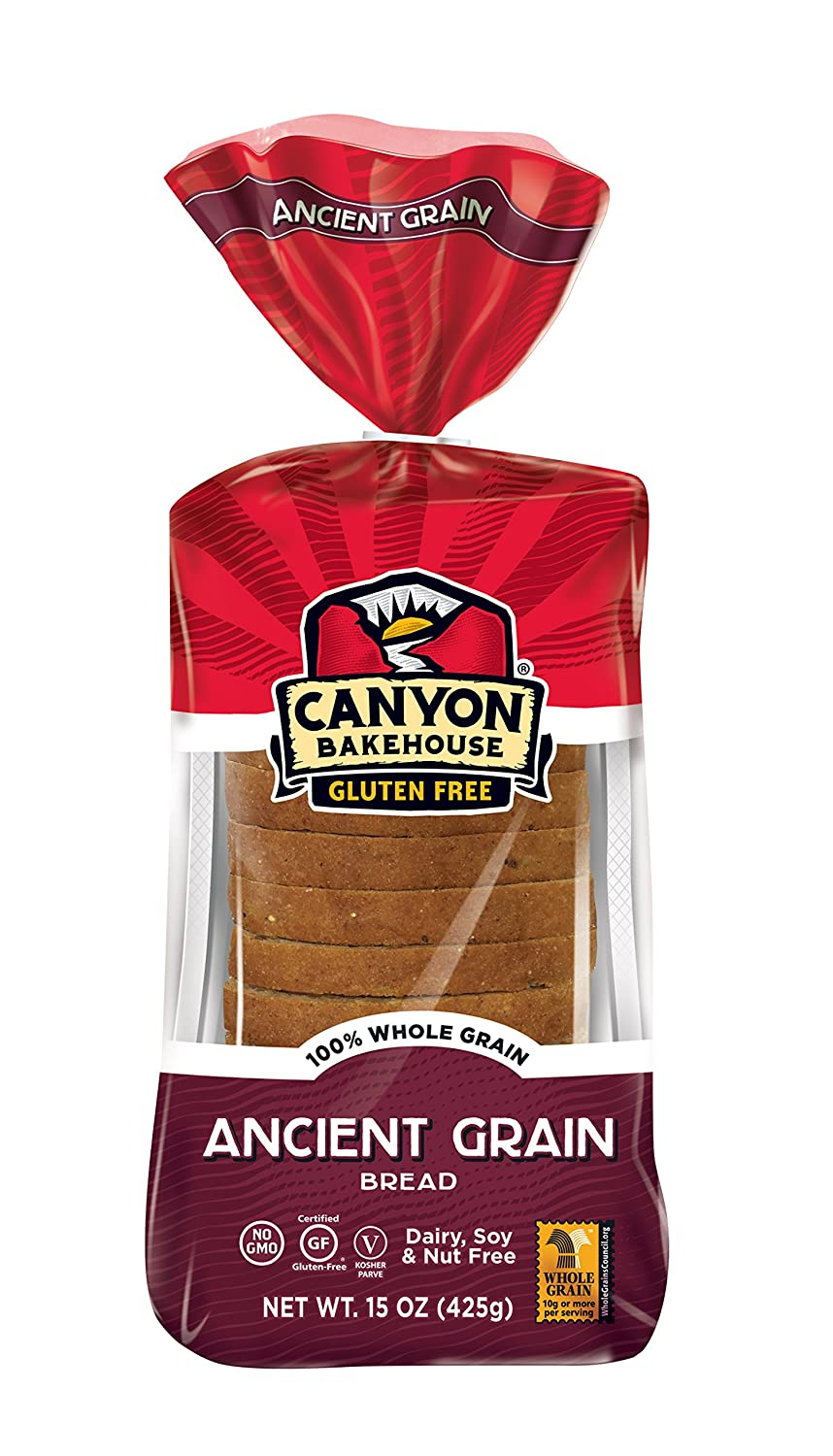 CANYON BAKEHOUSE Ancient Grain Gluten-Free Bread - Case of 6 Loaves