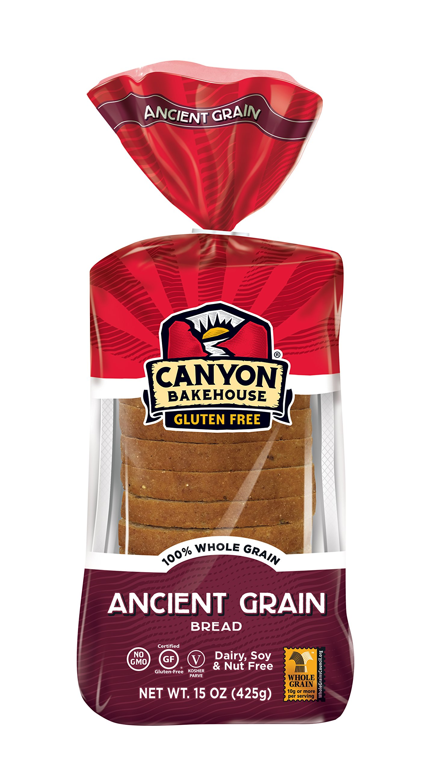 CANYON BAKEHOUSE Ancient Grain Gluten-Free Bread - Case of 6 Loaves by Canyon Bakehouse